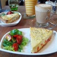 Photo taken at The Shop Café & Bakery by Lareina on 4/21/2013