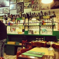 Photo taken at Trattoria Da Abele by Alessandro d. on 1/27/2013