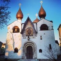 Снимок сделан в Марфо-Мариинская обитель милосердия пользователем Selipoleteli 4/12/2013