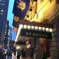 2/11/2013にCarl S.がThe St. Regis New Yorkで撮った写真