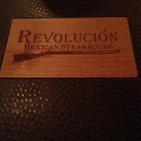 Photo taken at Revolución Steakhouse by Daniel G. on 3/23/2013