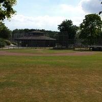 Das Foto wurde bei Baseballstadion Rheinaue von Michel P. am 6/25/2014 aufgenommen