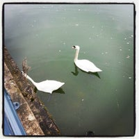 Photo taken at Brayford Wharf East Level Crossing by Cindy C. on 3/6/2013