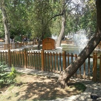 Photo taken at Kuğulu Park by Baran Y. on 6/28/2013