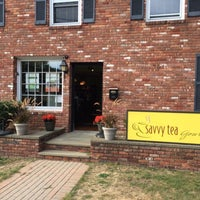 Photo taken at Savvy Tea by Stephen W. on 9/14/2014