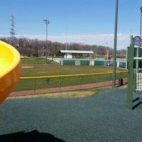 Photo taken at Helfaer Field by Michael R. on 4/3/2016