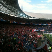 Photo taken at Stadion Feijenoord by Ronald S. on 5/9/2013