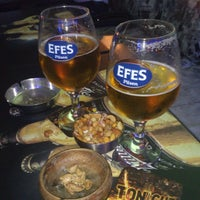 Photo taken at F-Beer Cafe & Grill by Cigdem I. on 4/10/2013