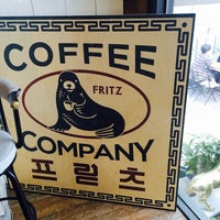 Photo taken at Fritz Coffee Company by Smily Y. on 10/18/2014