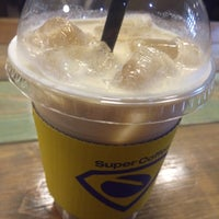 Photo taken at Super Coffee by Smily Y. on 6/12/2015
