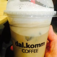 Photo taken at dal.komm coffee by Smily Y. on 3/17/2015