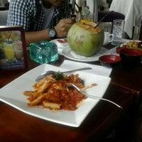 Photo taken at Merica Restaurant, Tanah Lot, Bali by Ahmad I. on 9/25/2013