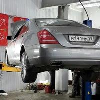 Photo taken at Mercedes-Benz  SERVICE by Gosha on 1/20/2015