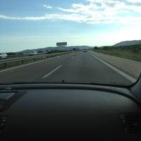 Photo taken at Autopista AP-7 by Gosha on 9/15/2013