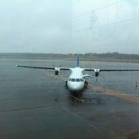 Photo taken at Turku Airport (TKU) by Santi G. on 11/22/2012