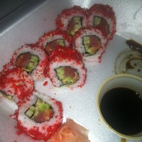 Photo taken at Sushi Max by Leah J. on 1/18/2013