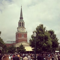 Photo taken at Hearn Plaza by Christian B. on 5/20/2013