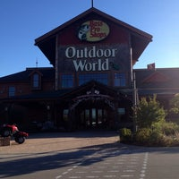 Photo taken at Bass Pro Shops by RaeAnne S. on 10/8/2013