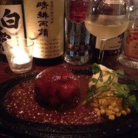Photo taken at HIDETOSHI お肉とワインのお店 by miracle.k.k on 7/9/2014