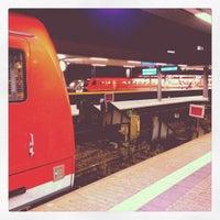 Photo taken at Saarbrücken Hauptbahnhof by Jacob J. on 10/27/2012