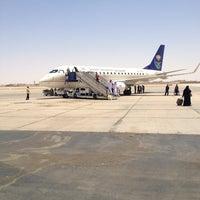 Photo taken at Prince Nayef Bin Abdulaziz International Airport (ELQ) by Domi A. on 7/27/2013