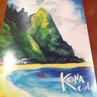Photo taken at Kona Café by Angelique F. on 4/24/2013