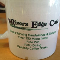 Photo taken at Rivers Edge Cafe & Espresso by erin w. on 9/22/2012