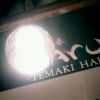 Photo taken at Haru Temaki Hall by R. on 10/28/2012