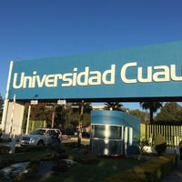 Photo taken at Universidad Cuauhtémoc by Esteban R. on 1/10/2017