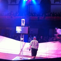 Photo taken at Red Bull Mini Drome by intervenue by Juhans R. on 3/24/2013