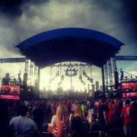 Photo taken at Huntington Bank Pavilion at Northerly Island by Adam L. on 6/29/2013