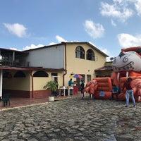 Photo taken at Parque principal Sasaima by MariaFer A. on 12/18/2016