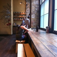 Photo taken at Ozone Coffee Roasters by Marina H. on 7/29/2013