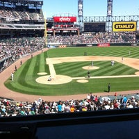 Photo taken at Guaranteed Rate Field by Jackie M. on 8/14/2013