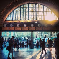 Photo taken at Flinders Street Station by Abdullah A. on 3/18/2013