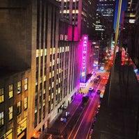 Photo taken at Club Quarters Hotel, opp Rockefeller Center by Mark C. on 7/27/2013