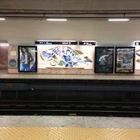 Photo taken at Metro Saldanha [AM,VM] by Soninha on 3/9/2013