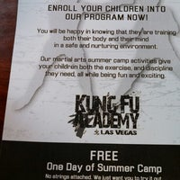 Photo taken at Las Vegas Kung Fu Academy by Farrah S. on 5/14/2013