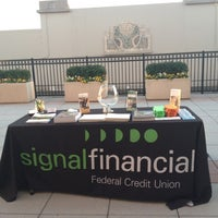 Photo taken at Signal Financial Federal Credit Union by Adriana V. on 10/11/2012
