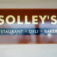Photo taken at Solley's Restaurant & Deli by Mike M. on 9/14/2012