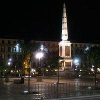Photo taken at Plaza de la Merced by Eric B. on 5/17/2013