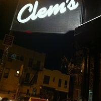 Photo taken at Clem's by Campbell K. on 1/8/2013