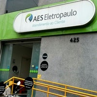 Photo taken at AES Eletropaulo by MANOEL A. on 7/11/2014