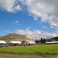Photo taken at 都城市立安久小学校 by Mitsuhiro W. on 10/6/2013