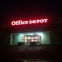 Photo taken at Office Depot by Teri C. on 9/16/2014