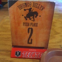 Photo taken at Bronco Billy's Pizza Place by Heather R. on 11/14/2012