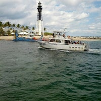 Photo taken at Hillsboro Inlet Lighthouse by Sergey A. on 2/9/2013