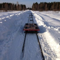 Photo taken at Музей паровозов by Sergey A. on 2/22/2013