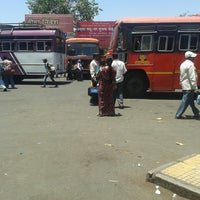 Photo taken at Satara Bus Stand by Omkkar B. on 5/5/2013