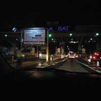 Photo taken at Gerbang Tol Buah Batu by umminya a. on 9/26/2017